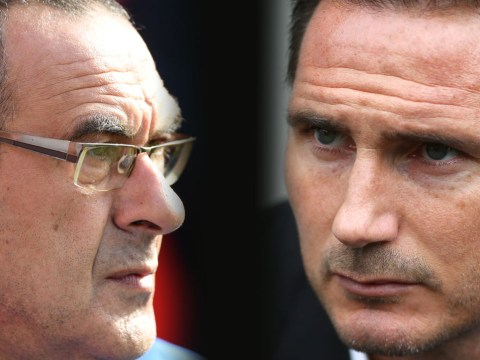 Chelsea set sights on Frank Lampard with Maurizio Sarri poised to join Juventus