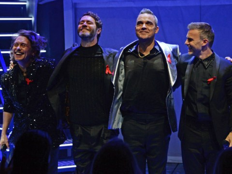 Gary Barlow says no space for Robbie Williams on Take That tour: 'It's about the three of us'