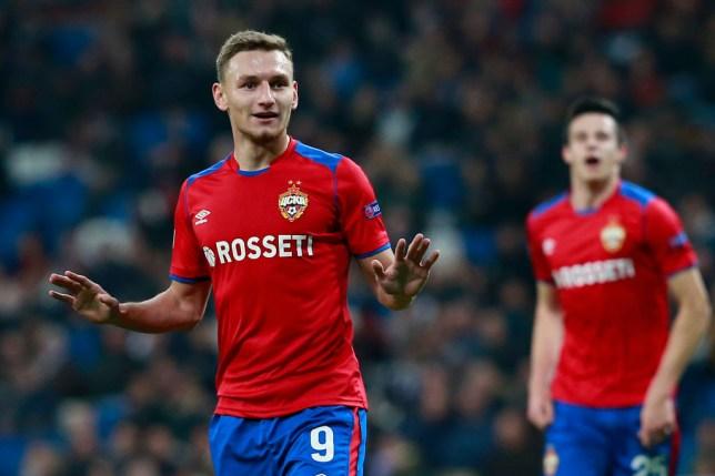 Fedor Chalov was the leading goalscorer in Russia last season