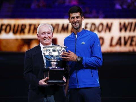 Rod Laver raises doubts over Roger Federer's French Open chances and tips Novak Djokovic to win title