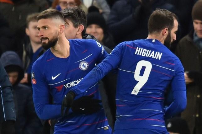 Olivier Giroud slams Maurizio Sarri over Gonzalo Higuain transfer