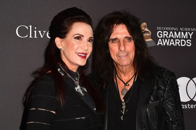 Alice Cooper and his wife Sheryl