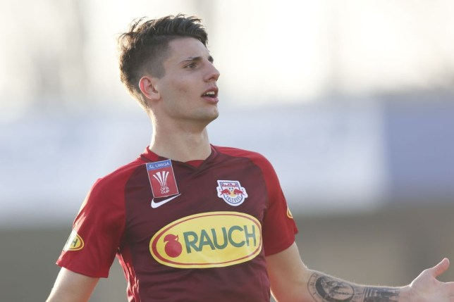 Arsenal are considering a transfer move for Dominik Szoboszlai