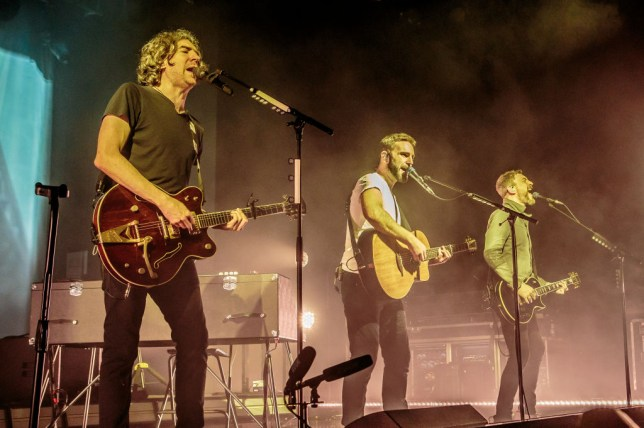 Snow Patrol pulls out of Glastonbury at the last-minute over Johnny McDaid's neck surgery