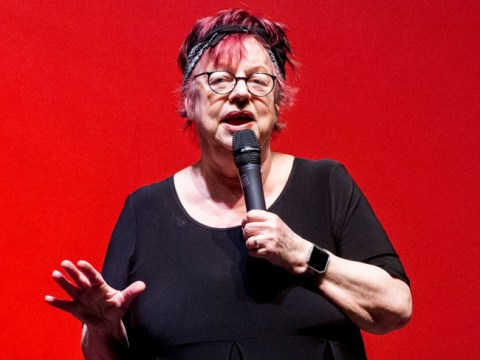 Jo Brand issues half-hearted apology for 'battery acid' joke that she doesn't believe was a 'mistake'