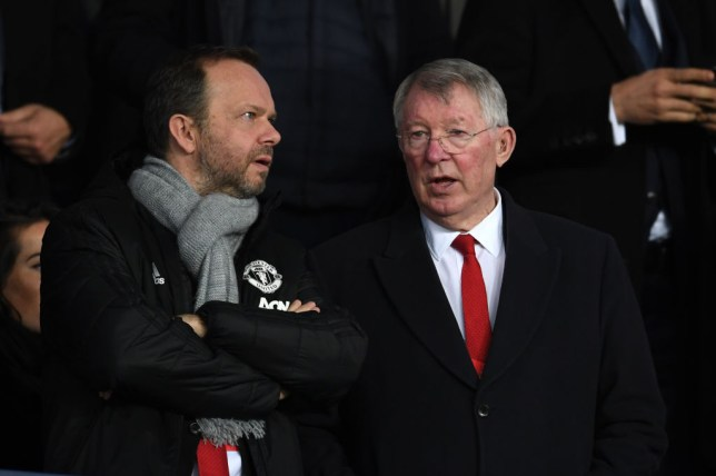 Ed Woodward and Sir Alex Ferguson