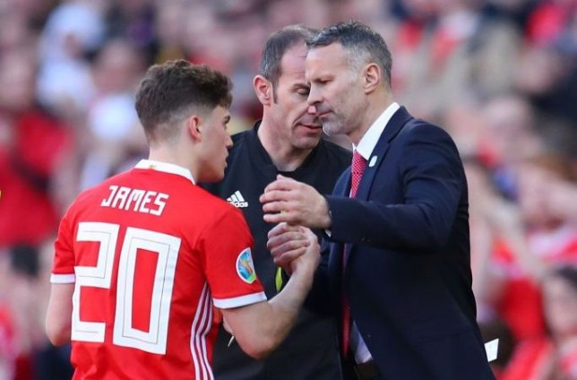 Ryan Giggs reveals advice to Daniel James ahead of Manchester United move