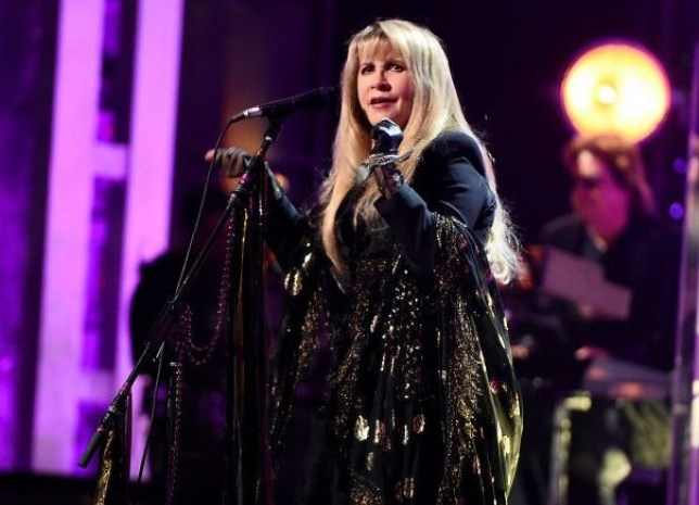 Stevie Nicks performs at Rock & Roll Hall Of Fame