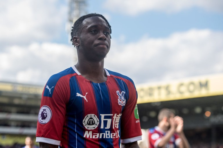 Aaron Wan-Bissaka was named Crystal Palace's Player of the Year