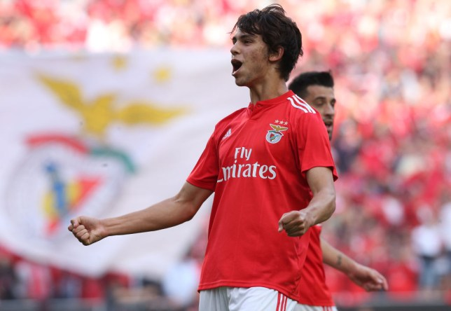 Joao Felix has been heavily linked with Manchester United this summer