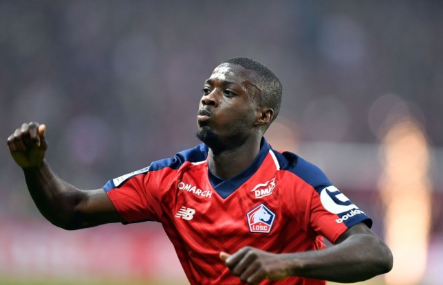 Nicolas Pepe is wanted by several of Europe's elite clubs including Liverpool and Manchester United