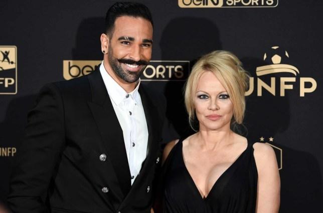 Pamela Anderson Instagram accuses Marseille's Adil Rami of