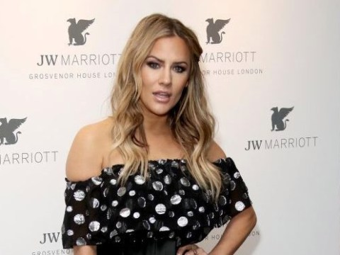 Caroline Flack confesses she was arrested when she was 17 for tap dancing on top of a van