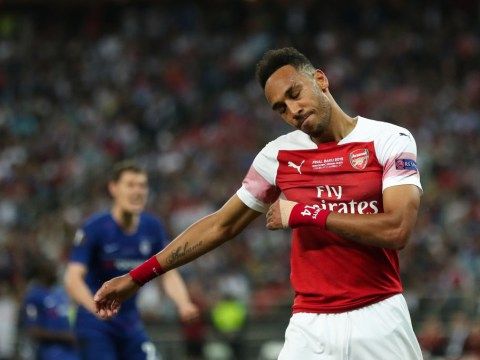 Arsenal's Pierre-Emerick Aubameyang heaps praise on two Liverpool players