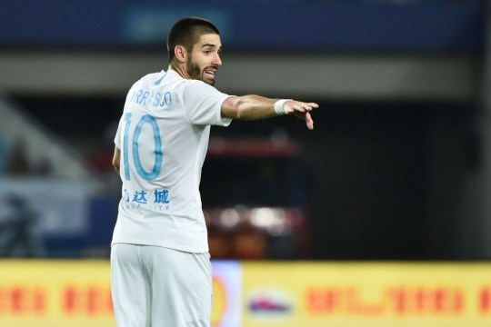Carrasco is desperate for a move away from China this summer