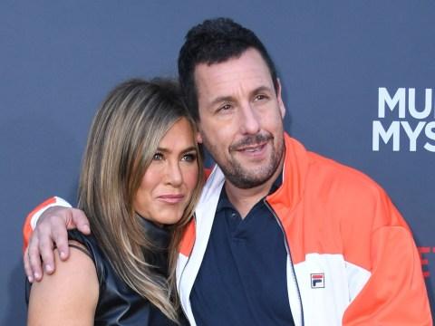 Adam Sandler calls on Jennifer Aniston 'make a f***ing Friends movie'