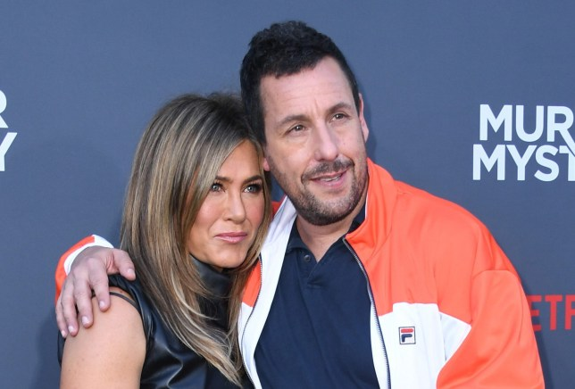 Adam Sandler really wants Jennifer Aniston to make a Friends movie