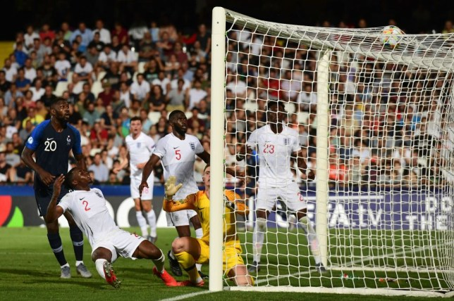 Phil Foden scores stunning solo effort but Aaron Wan-Bissaka nets shocking own goal in England Under-21 defeat to France