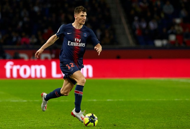 Thomas Meunier has hinted he'll leave PSG (Picture: Getty)