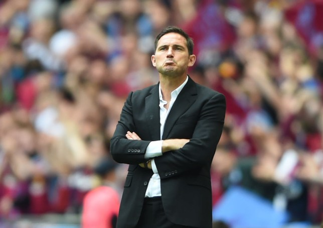 Frank Lampard is the favourite to take over at Chelsea