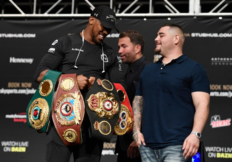 Andy Ruiz Jr knows Mexico has never had a heavyweight world champion