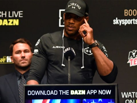 Anthony Joshua relieved to be beaten by Andy Ruiz, claims Eddie Hearn