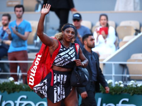 Serena Williams reacts to French Open exit at the hands of Sofia Kenin