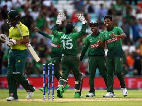 Jacques Kallis reacts to South Africa's shock Cricket World Cup defeat to Bangladesh