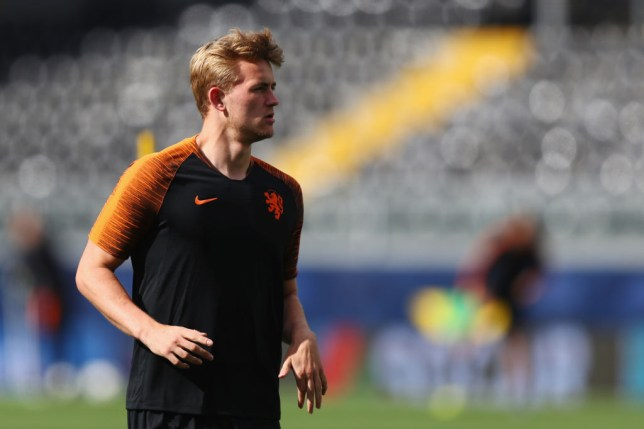 Liverpool and Manchester United both want to sign Ajax's Matthijs de Ligt