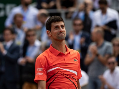 Novak Djokovic reacts to return of the 'Big Three' in the semi-finals of a Grand Slam