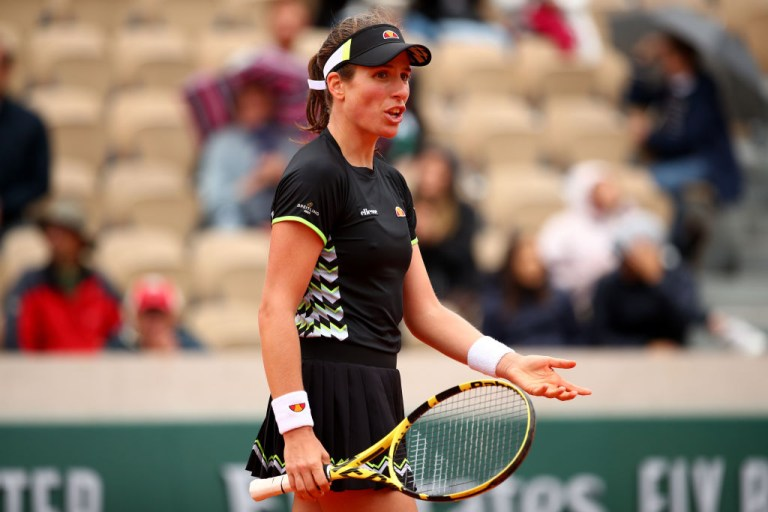 Johanna Konta was critical of the French Open schedule