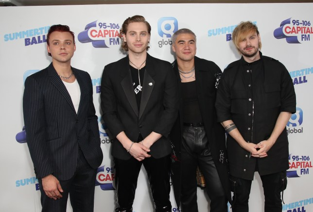 5 Seconds of Summer at Capital Summertime Ball