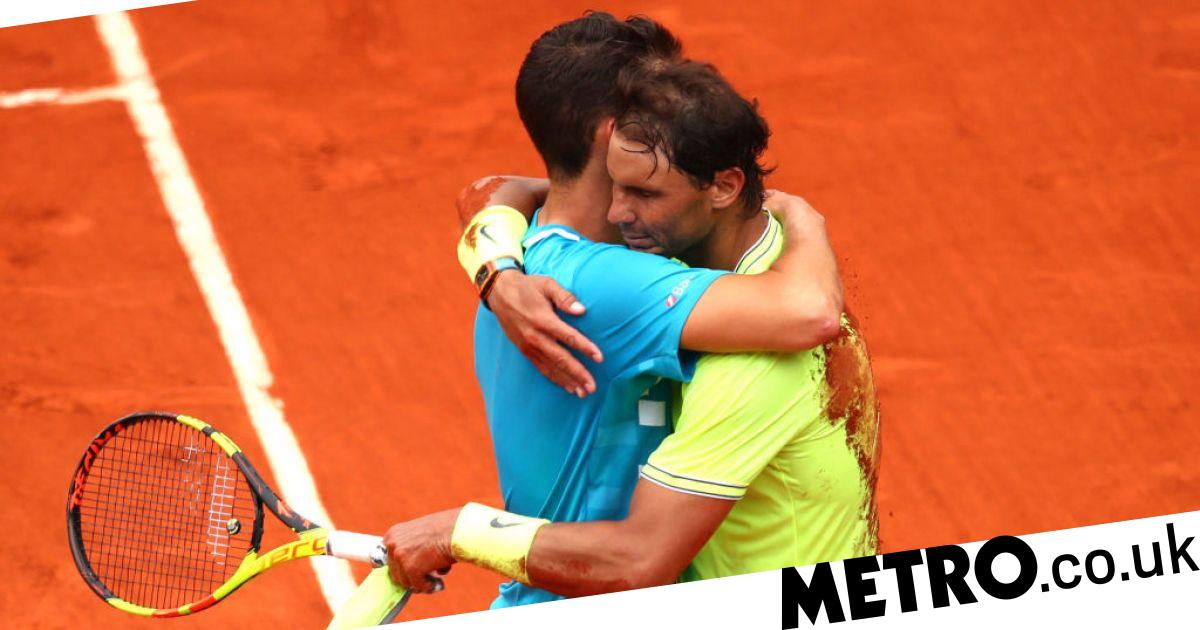 Rafael Nadal sends classy message to Dominic Thiem after winning French Open