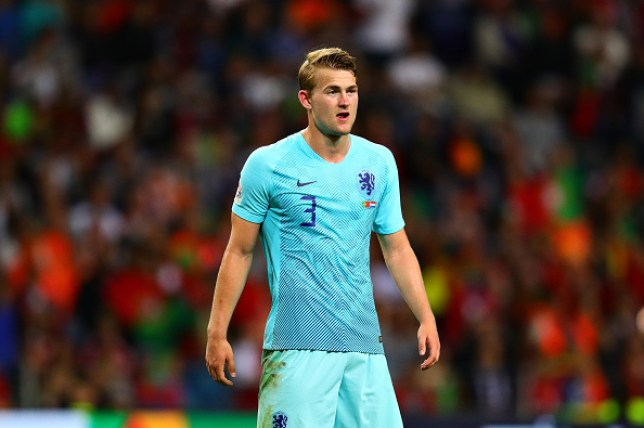 Matthijs de Ligt is keen on a move to Juventus