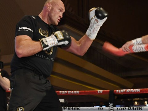 Top Rank force Tyson Fury to ditch workout underpants for fear of indecent exposure