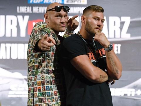 Frank Warren quashes rumours Tyson Fury vs Tom Schwarz could be for WBO belt