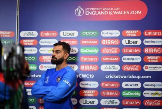 Pakistan face Virat Kohli's India on Sunday