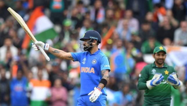 Virat Kohli set another record in India's Cricket World Cup clash against Pakistan