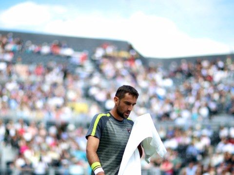 Defending champion Marin Cilic out as Diego Schwartzman springs shock