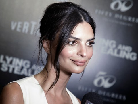 Emily Ratajkowski grew up 'ashamed' of her body because she 'developed super young'