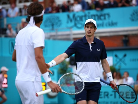 Andy Murray & Feliciano Lopez on verge of Queen's semi-finals as light stops play