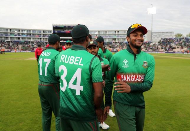 Shakib Al Hasan helped Bangladesh keep their Cricket World Cup hopes alive