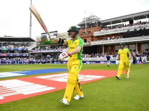 Australia openers Aaron Finch and David Warner break World Cup record during England clash