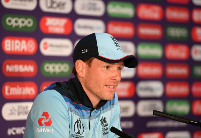 Eoin Morgan has responded to Kevin Pietersen's dig