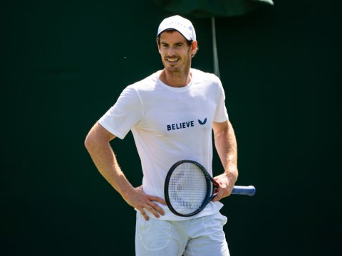 When is Andy Murray's first game at Wimbledon 2019 and who is he playing?