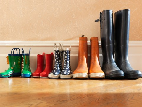 Wearing outdoor shoes inside the house might help prevent childhood asthma
