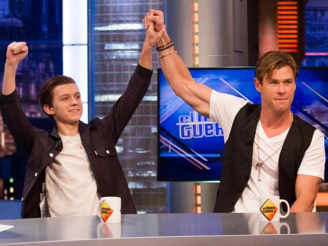 Chris Hemsworth helped close friend Tom Holland land Spider-Man role