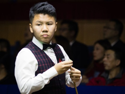Zhou Yuelong is back for more Snooker World Cup success after incredible teenage triumph