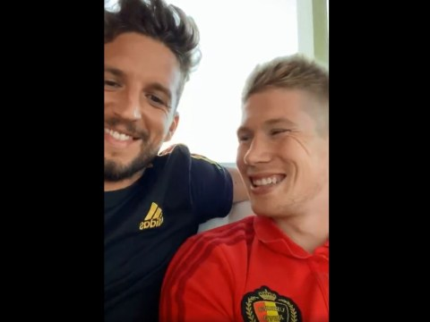 Kevin De Bruyne jokes about Eden Hazard's move to Real Madrid with Chelsea set to confirm transfer