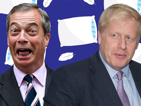 Nigel Farage says he's ready to get into bed with Boris